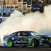 "Vaughn Gittin Jr. and his Ford Mustang RTR in ""Forever Drift"""