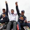 Carlos Sainz bicampeón del Dakar.