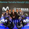 Movistar Yamaha presenta las M1 de Rossi y Viñales