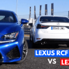 Lexus RC F vs Lexus GS F Track Battle A