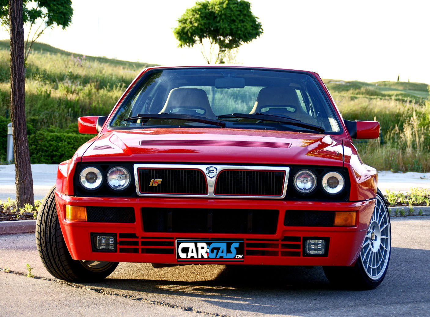 lancia delta hf integrale evo 2 frontal car and gas. Black Bedroom Furniture Sets. Home Design Ideas