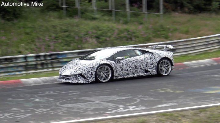 Lamborghini Huracan Performante record Nurburgring