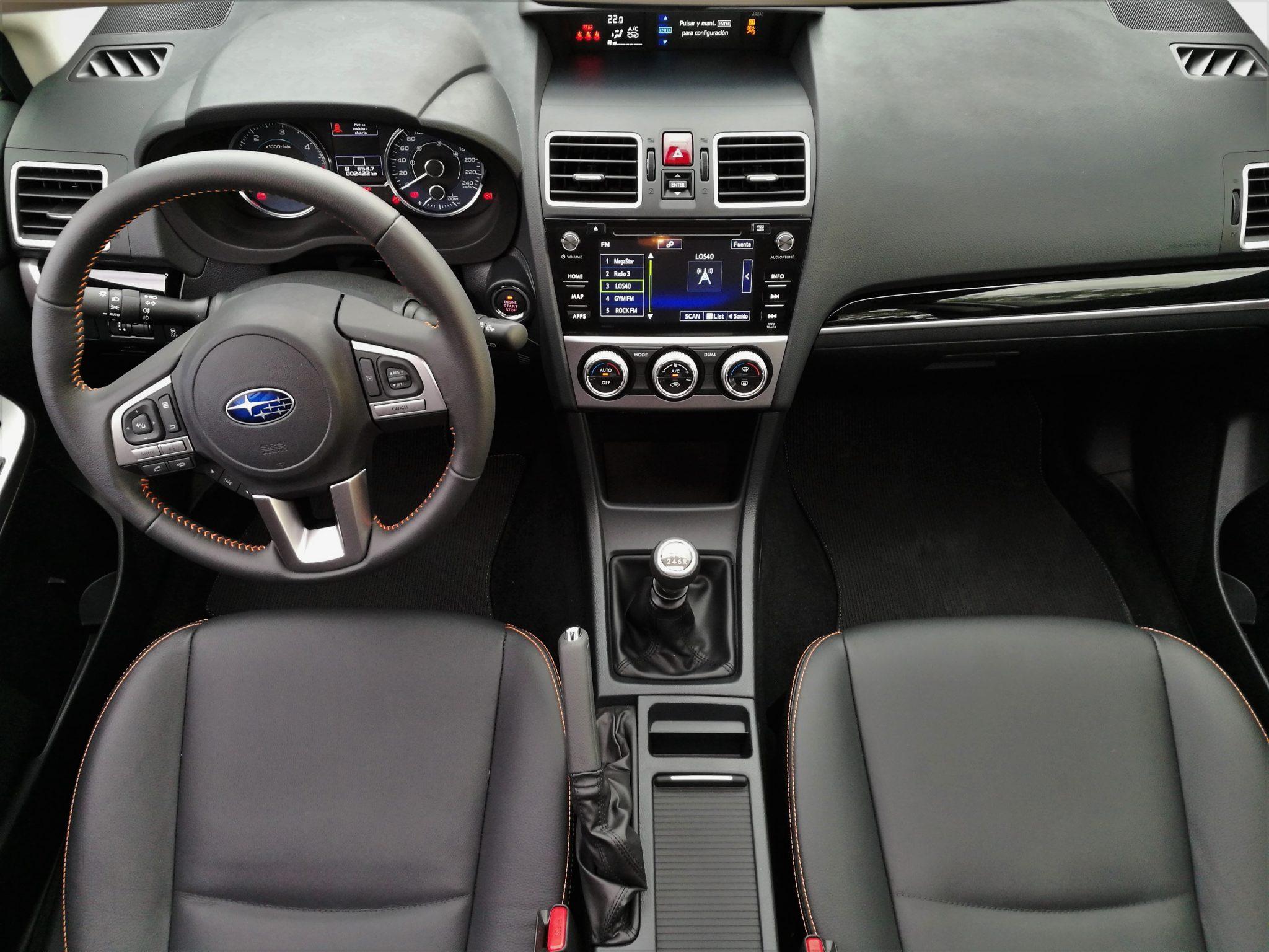 subaru xv boxer diesel interior desde el techo car and gas. Black Bedroom Furniture Sets. Home Design Ideas