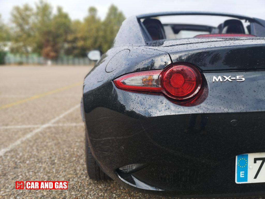 Pilotos traseros Mazda MX-5 RF Dark Red Edition