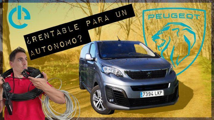 Peugeot e-Expert Portada